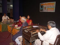 Saptasuranche Chandane- Jyotsan Bhole Centanary Year Celebration Program at Sahitya Sangh